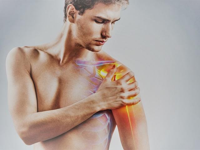 ízületi fájdalom a vállban edzés közben