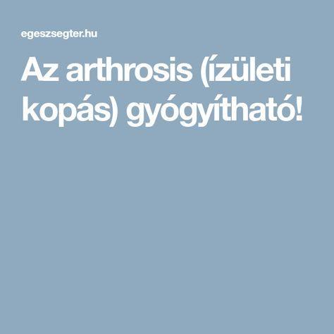 artrózis hidrogén-peroxid kezelés)