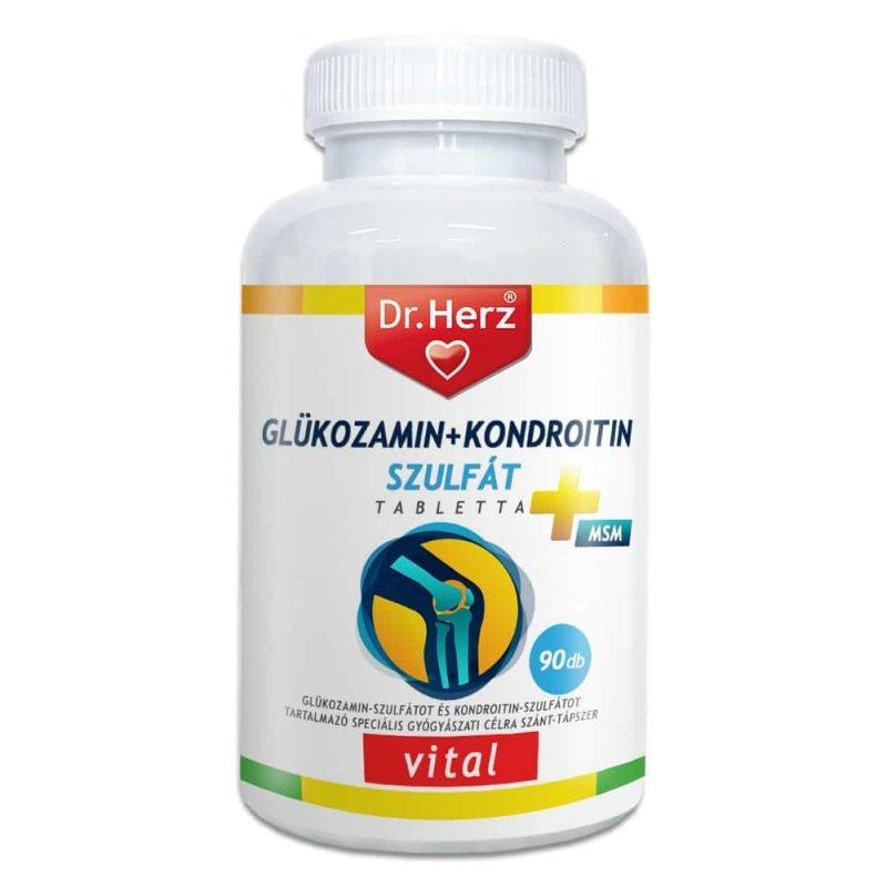 készítmények chondroitin és glükozamin