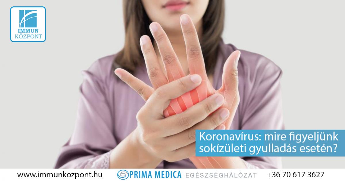 vírusos ízületi gyulladás kezelésére)