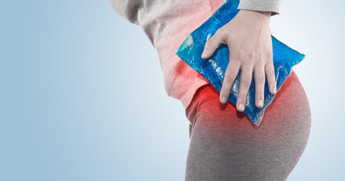 a fájdalom elment a csípőízületben