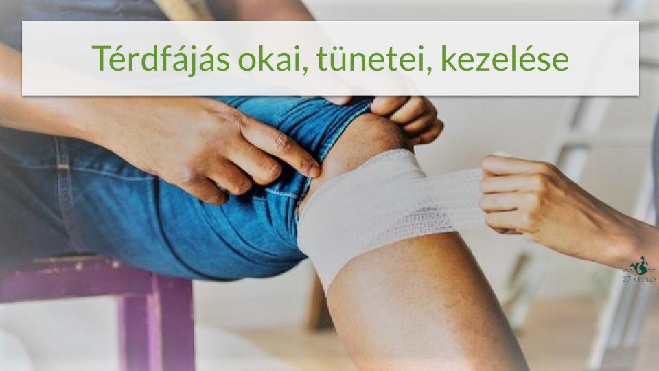 a térd meniszkuszának belső károsodása)
