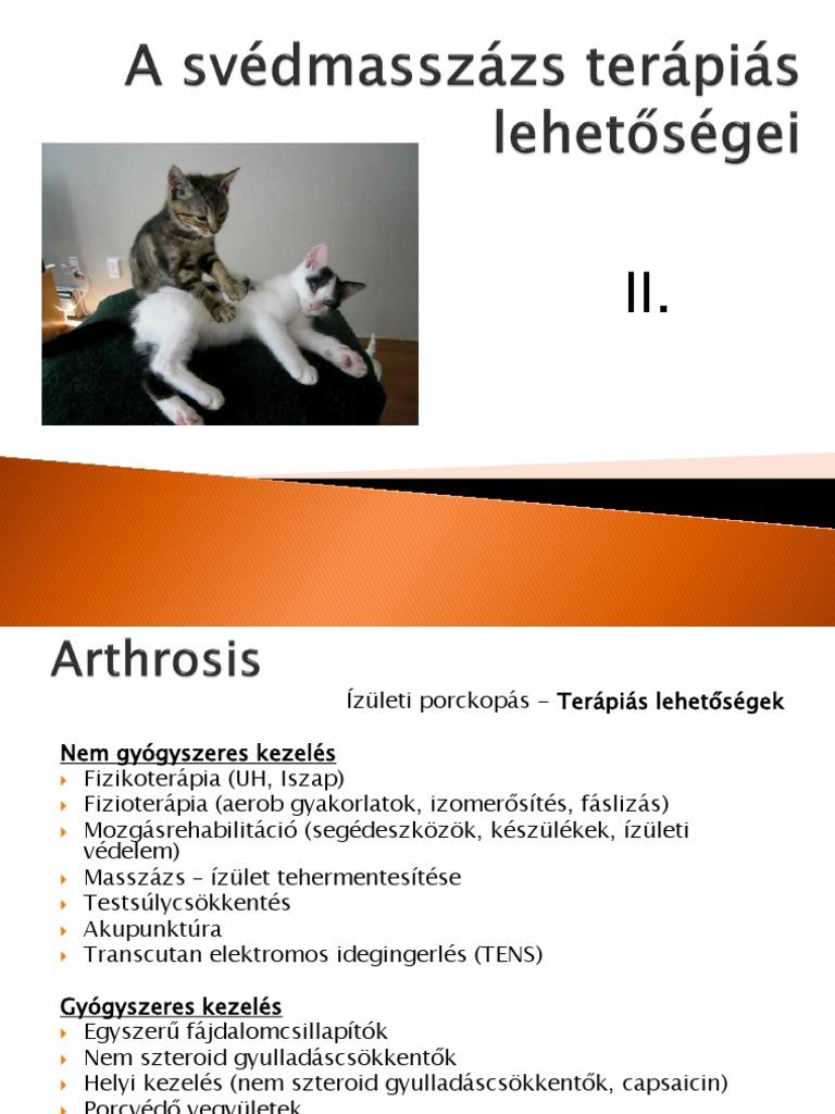 brachialis artrosis, mint a kezelés