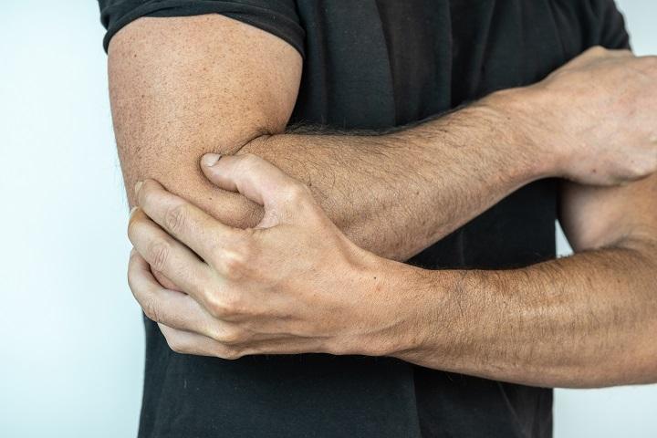 fájdalom csukló sérülés után