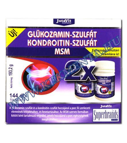 glükózamin és kondroitin hatás)