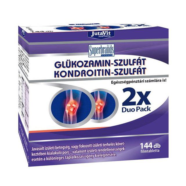 a kezelés időtartama kondroitin-glükozaminnal)