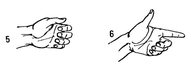 Mi a teendő, ha az ujjak nem kanyarodnak