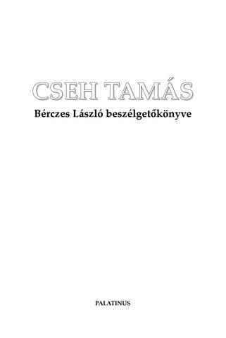 Cseh Borbála: Túl lehet élni…