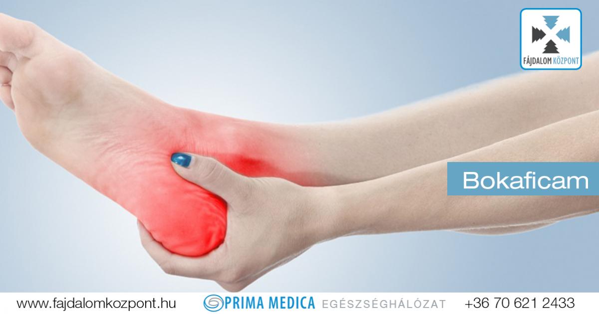 fájdalom a bokaízület tünetei és kezelése