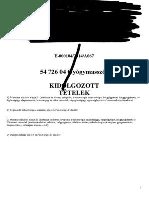 a térdízület kenőcsének diszlokációja)