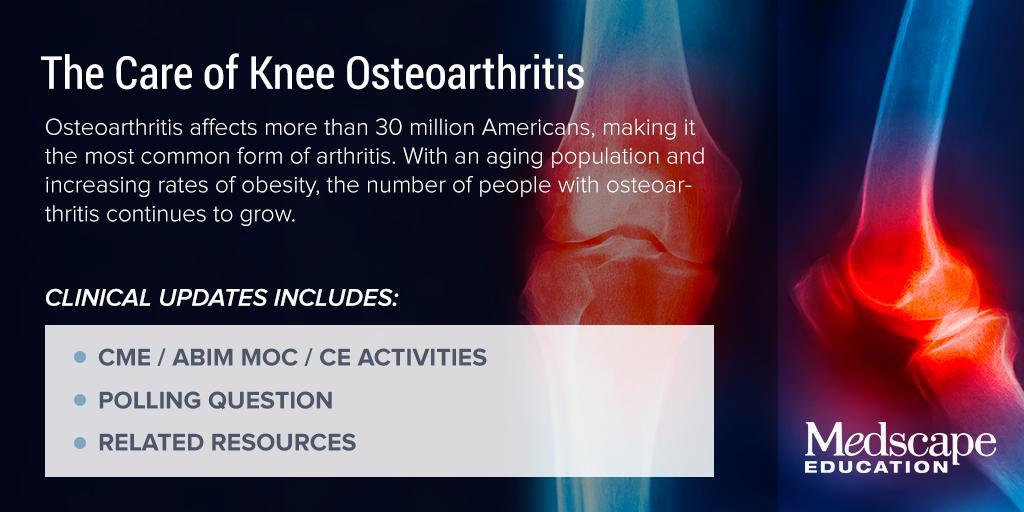 knee osteoarthritis medscape)