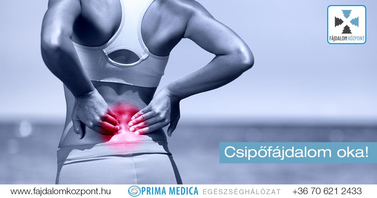 tartós fájdalom a jobb csípőízületben
