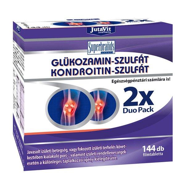 glükozamin-kondroitin ízületek és ízületek számára
