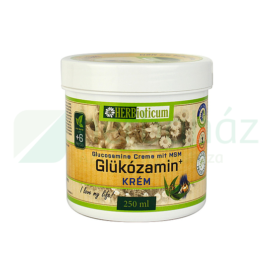 Herbioticum Glükozamin krém - ml: vásárlás, hatóanyagok, leírás - ProVitamin webáruház
