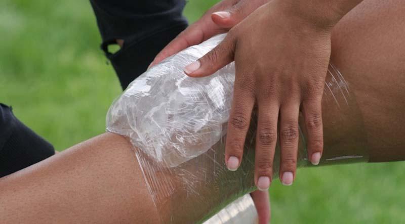 térd kezelése sérülés után)