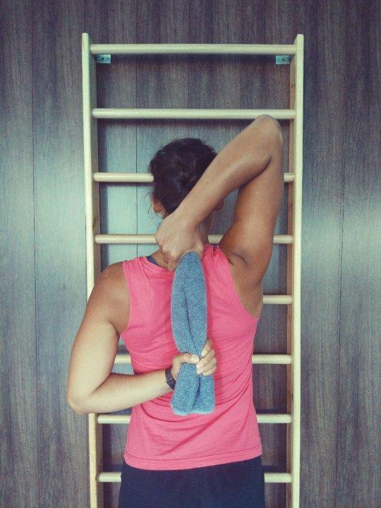 a push-up után a vállízület fáj