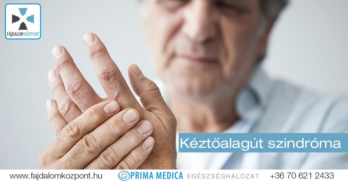 ízületi fájdalmak zsibbadt ujjak